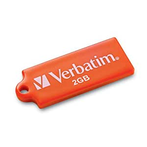 Verbatim TUFF 'N' TINY 2 GB USB 2.0 Flash Drive 96814 (Orange)