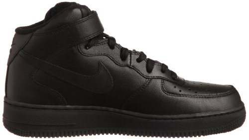 '07 Trainers Top Hi NIKE Black Air Mid Men Force 1 's Wx08zwq0Y