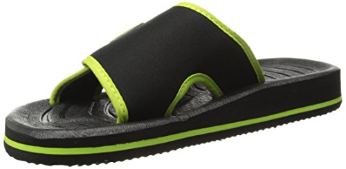 Bertelli Mens Slide Beach Sandal Slipper with A Firm Feel and Adjustable Strap