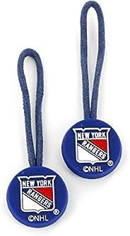 NHL New York Rangers ID Zipper Pull, 2-Pack