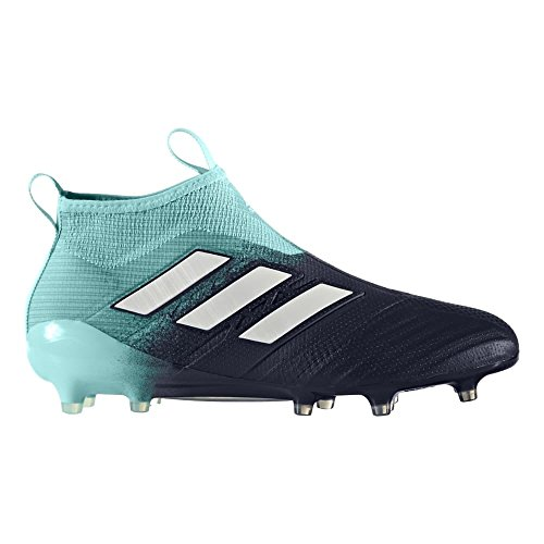 9f11f7370aea Galleon - Adidas Men s ACE 17+ PURECONTROL FG Soccer Cleats (Energy Aqua)