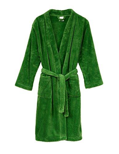 TowelSelections Little Girls' Robe, Kids Plush Kimono Fleece Bathrobe Size 4 Online -