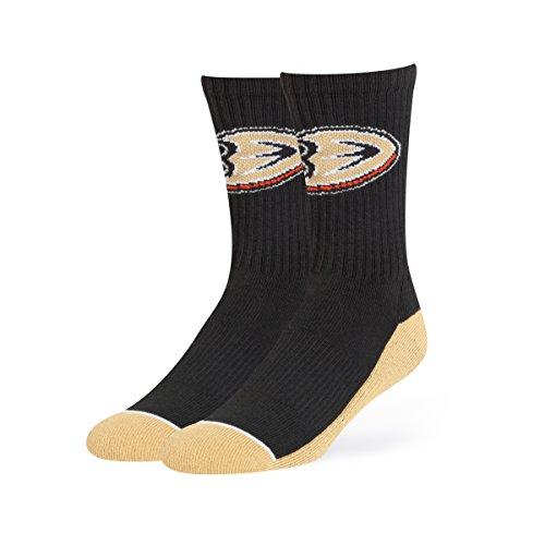 NHL Anaheim Ducks OTS Anthem Sport Sock, Black, -