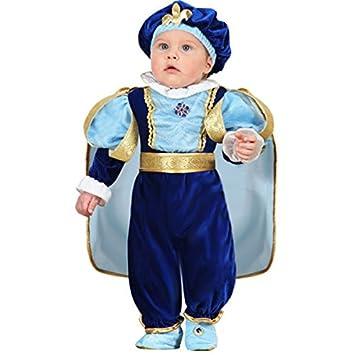 dbfc220914a71 VESTITO COSTUME Maschera di CARNEVALE NEONATO - PICCOLO IMPERATORE - Taglia  13 18 mesi - 63 cm  Amazon.it  Giochi e giocattoli