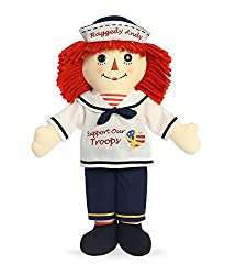 "Aurora World Support Our Troops Raggedy Andy Doll, 16"","