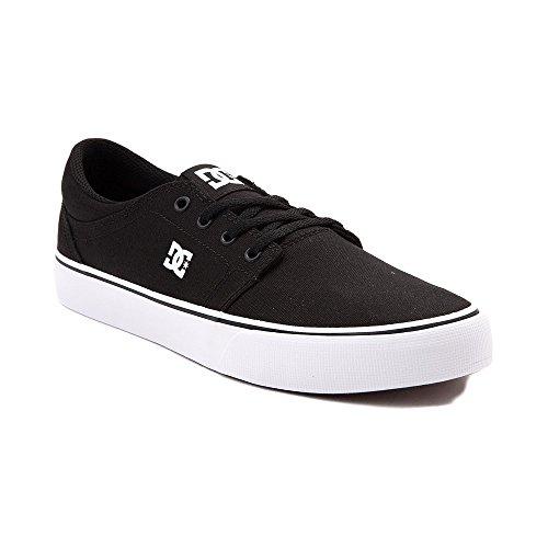 黒人シェア丁寧(ディーシー) DC 靴?シューズ メンズスケートシューズ Mens DC Trase TX Skate Shoe Black/White ブラック/ホワイト US 13 (31cm)
