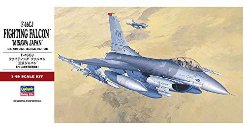 Hasegawa 1/48 F-16CJ Fighting Falcon Misawa Japan Airplane Model Kit