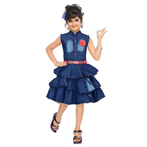 41O6FToXRbL. SS500  - 4 YOU Denim Cotton Dress