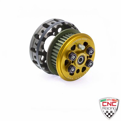 CNC Racing Master Race 4 Primavera Slipper Clutch & cesta Ducati ST3 ST4 Supersport SS 750