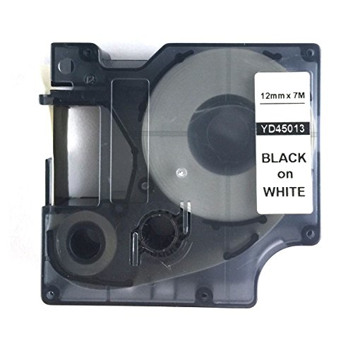 neouza-black-on-white-label-tape-compatible-for-dymo-d1-45013-s0720530-1-2-x-23-by-neouza