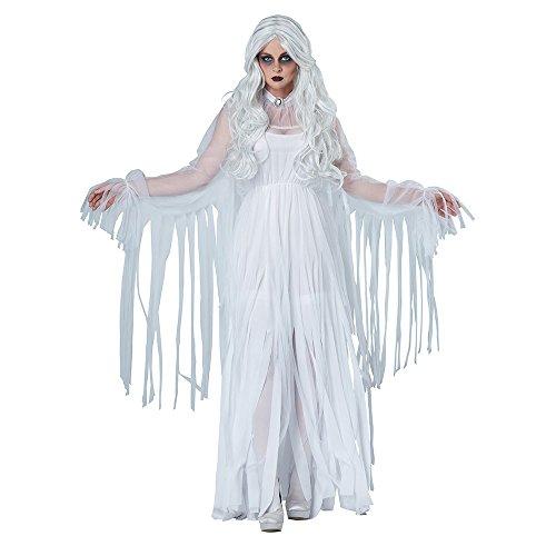 California Costumes Women's Ghostly Spirit, White, Small