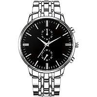 Legros New Men Fashion Alloy Steel Band Round Analog Quartz Wrist Watch Bracelet Bangle