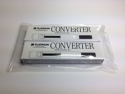 Platinum fountain pen for converter [two] converter -500