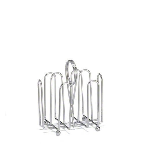 Tablecraft (597C) Chrome Jelly Packet Rack [Set of 12]