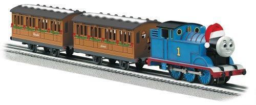 Thomas Christmas Train Set.Lionel Thomas Friends Christmas Train Set B00bk5mtsa