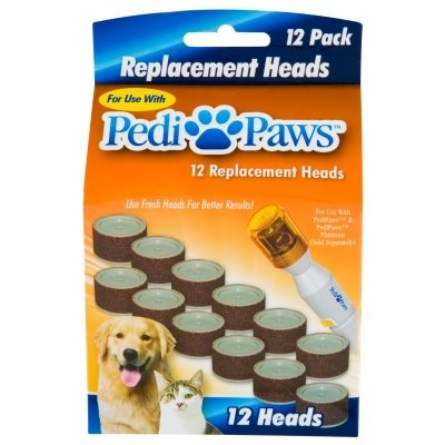 PediPaws Replacement Heads 12