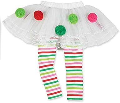 PinkLu Conjunto De Falda Navideña De El Bebé NiñA Navidad Infantil NiñO Santa Alce Pastel Vestido 2 Piezas (18~24 meses/100cm, Blanco): Amazon.es: Ropa y accesorios