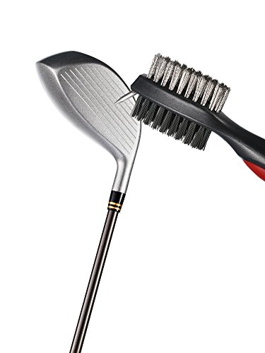 Jetec 3 Pieces Golf Double-sided Cleaning Brush Retractable Zipper Wire Groove Cleaning Tool by Jetec (Image #2)