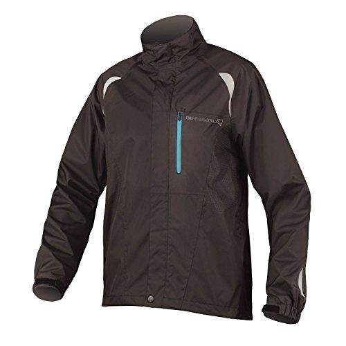 Endura Gridlock II Waterproof Cycling Jacket Black, Small
