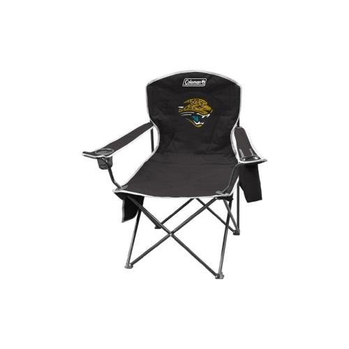 NFL Portable Folding Chair with Cooler and Carrying (Jacksonville Jaguars Football Case)