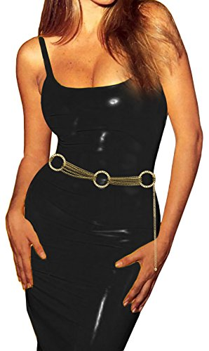 Luna Sosano Womens Chain Belt - Type 66 - Antique Gold
