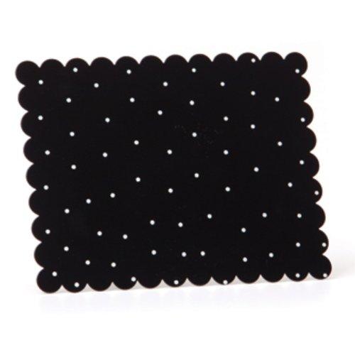 Embellish Your Story Black w/White Dots Magnetic Memo Board - Embellish Your Story Roeda 14269-EMB