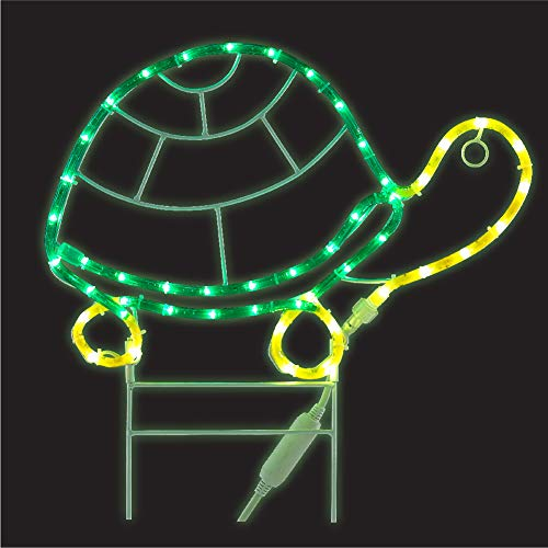 Green LongLife 18 Inch Decorative LED Rope Light for Patio, Garden, Home (Turtle) 8080124