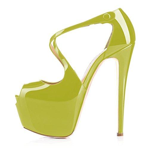 Sandals Womens Shoes Pumps Multicolor Super High Cross toe uBeauty Platfrom Strap Court Verdant Buckle Heel Peep pOn6q6wd4
