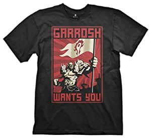 World of Warcraft T-Shirt Garrosh Wants you Größe L [Importación alemana]