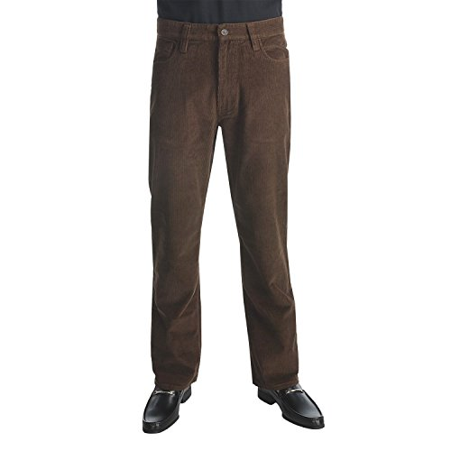 Chocolate Corduroy Pants - 2
