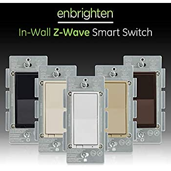 Ge White Amp Light Almond Enbrighten Z Wave Plus Smart