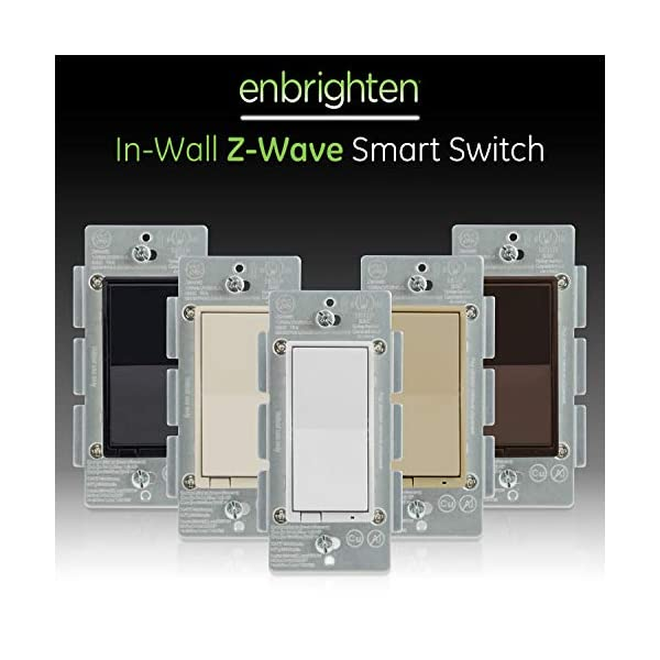 In-Wall GE Z-Wave Plus Wireless Smart Lighting Control Switch 14291 On//Off