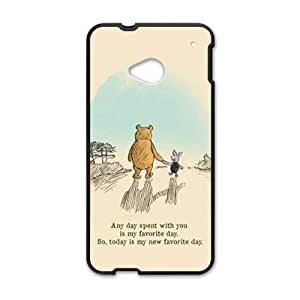 Artistic bear and rabbit Cell Phone Case for HTC One M7