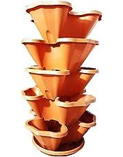 برج زراعة عمودي - 5 ارضيات - سعة 15 نبتة