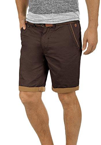 Blend Neji Herren Chino Shorts Bermuda Kurze Hose mit Gürtel Regular Fit