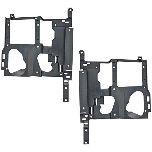 (Headlight Headlamp Brackets Left & Right Pair Set for Chevy GMC Pickup Truck)