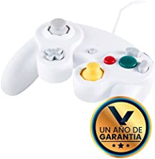 Virtual Zone Control Alámbrico para Nintendo Game Cube Blanco