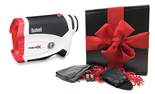 bushnell-tour-x-rangefinder-gift-box-bundle-includes-golf-laser-rangefinder-magnetic-cart-mount-play