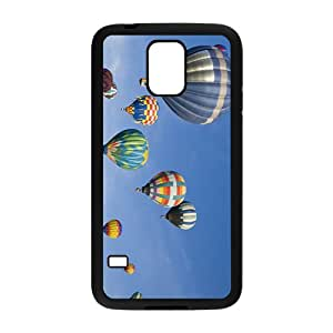 Fire Balloon And Sky Hight Quality Plastic Case for Samsung Galaxy S5
