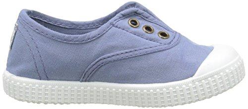 Tintada Inglesa Bleu Victoria Niños Lona Zapatillas 36 Punt Azul qZFESp