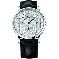 Louis Erard Excellence Collection Swiss Automatic Selfwinding Silver Dial Men's Watch 86236AA01.BDC51 …