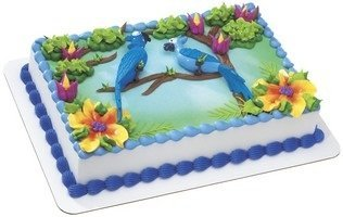 RIO BLU and Jewel Cake Topper (Rio Birthday Party)