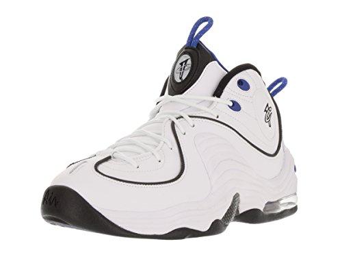 Nike Men's Air Penny II White/Black/Varsity Royal/Blk Basketball Shoe 10.5 Men US rtmhk