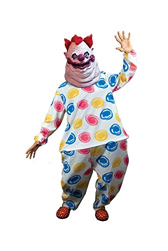Outer Space Costumes (Trick or Treat Studios Men's Killer Klowns From Outer Space-Fatso Costume, Multi, One Size)