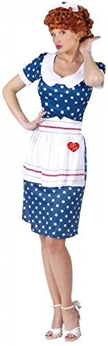 Sassy I Love Lucy Adult Costume (Plus Size I Love Lucy Costumes)