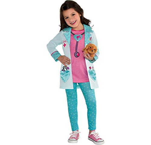 Barbie Pet Vet Halloween Costume for Girls, 3-4T, with Included Accessories, by Amscan -