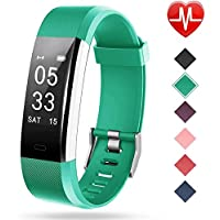 $27 » Lintelek Fitness Tracker with Heart Rate Monitor, Activity Tracker with Connected GPS, IP67…