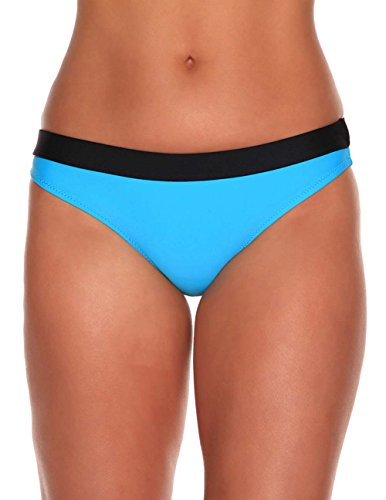 Sheridyn Swim Women's Tropez Bikini Bottom Sky Blue Medium