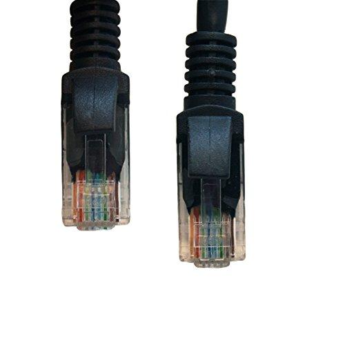 Woodsam (TM) BLACK 25FT CAT5 CAT5e RJ45 PATCH ETHERNET NETWORK CABLE Photo #2