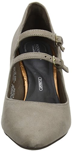 Total Rockport Luxe Beige Motion Merceditas taupe Violina Femme Pour Mary Jane OOdnqrwt64